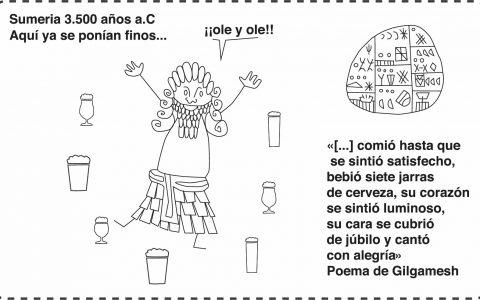 La historia de la cerveza para La Grifería en Castellón